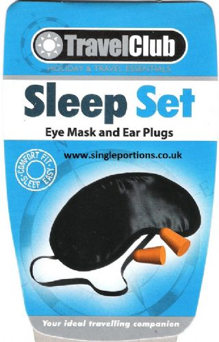 Sleep Set - Eye Mask and Ear Plugs